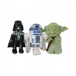 Peluche Star Wars Pack 3 Personajes T1 25cm Articulo Original