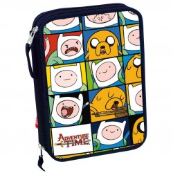 Adventure Time Pencilcase Filled 30 pcs Original Hora Aventuras
