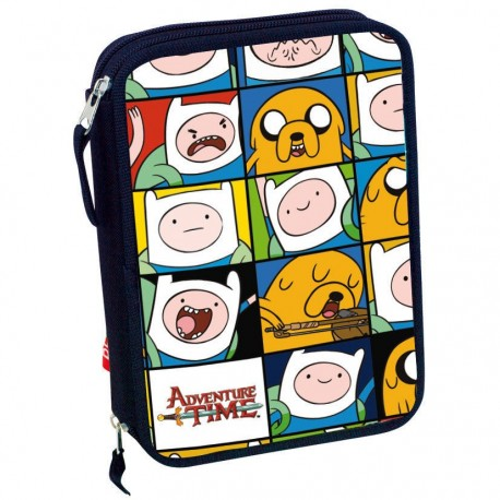 Adventure Time Pencil Case with Stationery Set 30 pieces