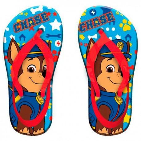 Poncho Toalla con Chanclas Patrulla Canina Hooded Towel Flipflops