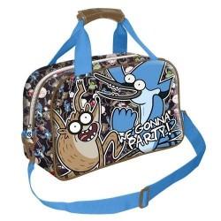 Regular Show Sports Travel Bag Mordecai Rigby Bolsa Historias Corrientes