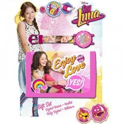 Set Regalo Reloj y Billetera Soy Luna Watch Wallet Gift Set