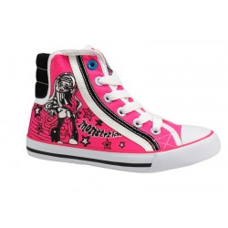 Zapatillas deportivas Monster High Blanco velcro
