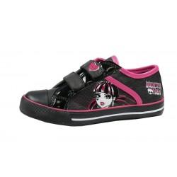 Zapatillas Deportivas Monster High Draculaura Velcro Girls Sneakers