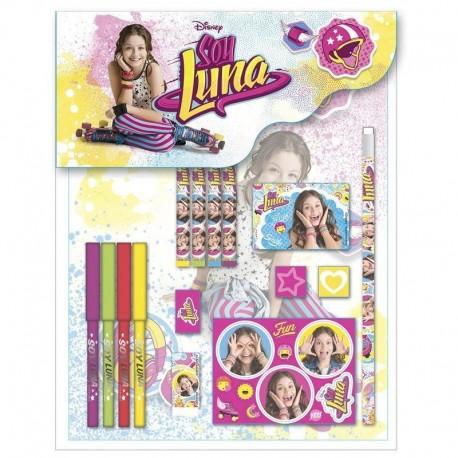 Set Papeleria Soy Luna Disney 15pcs