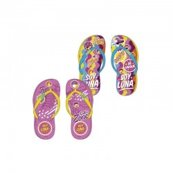 2 x 1 Soy Luna Disney Flip Flops Beach Sandals Chanclas Playa