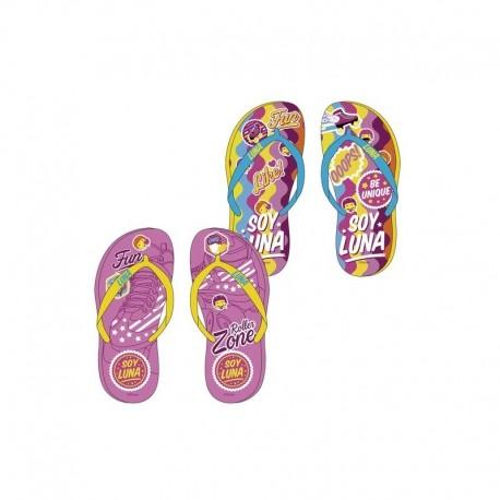 2 x 1 Soy Luna Disney Flip Flops Beach Sandals Chanclas Playa