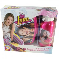Set cantimplora sandwichera Soy Luna Lunch Box Canteen Bottle