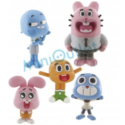 Amazing World of Gumball Figures Set 5 Characters Official Toys