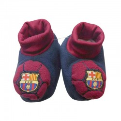 Patucos Bebe FC Barcelona Barça Antideslizantes / Baby Socks