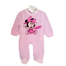 Baby Onesie Minnie Velour Pyjama Romer Pelele Bebe