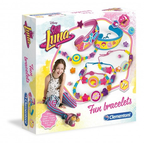Soy Luna Set Crea Pulseras Fun Bracelets