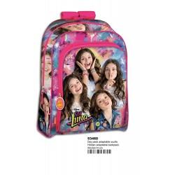 Mochila Soy Luna Disney 43cm Extra Grande Large Backpack