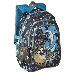 Mochila Historias Corrientes 41cm Regular Show Backpack School Bag