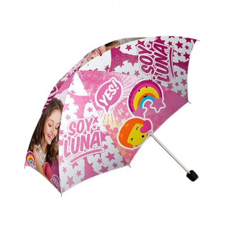 Paraguas Plegable Soy Luna 52cm Folding Umbrella Original