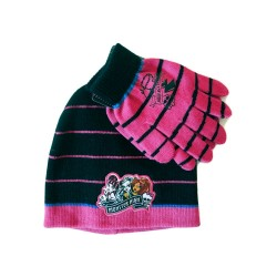 Girls Monster High Beanie Hat and Gloves Set Original