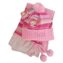 Hat Scarf Set TARTA de FRESA Rosa Strawberry Shortcake Charlotte  Fraises