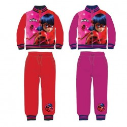 Girls Tracksuit Miraculous Ladybug Jogging Set Chandal Niña