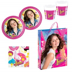 Soy Luna Party Pack for 16 Plates Cups Napkins Pack Fiesta