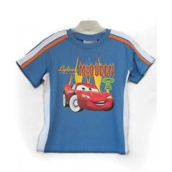 Camiseta CARS con Bandas Sport Azul
