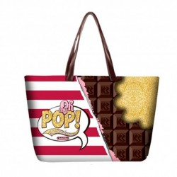 OH MY POP! BOLSO TOTE CHOCOLAT