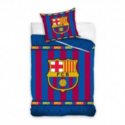 Duvet Cover Set FC Barcelona Club Crest Official