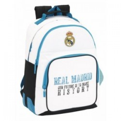 Mochila Real Madrid Doble C/ Cantonera 32x15x42cm