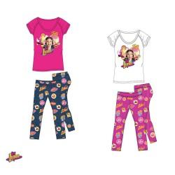 Conjunto Soy Luna Disney Camiseta y Leggings T-Shirt Set
