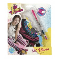 DIary Soy Luna Disney with Lock and Ballpen