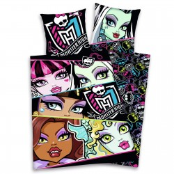 Duvet Set Monster High Reversible 100% Cotton