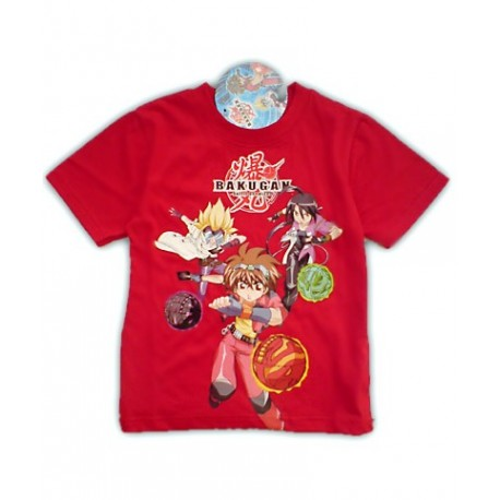 Camiseta BAKUGAN Roja