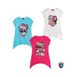 T-shirt Mini Dress Monster High Original Vestido Camiseta