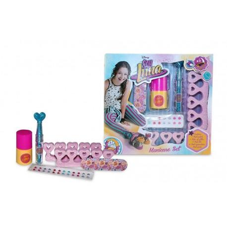 Manicure Nail Polish Glitter Set Soy Luna Disney Manicura