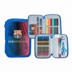 Plumier Doble FC Barcelona
