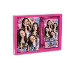 Diario Soy Luna Disney Set con Agenda y Boli Diary