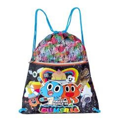 Amazing Gumball School Bag Gym Sack Backpack