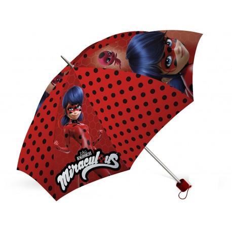 Folding Umbrella Miraculous Ladybug Paraguas