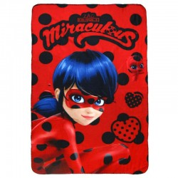 Miraculous Ladybug Throw Blanket Original Manta Polar