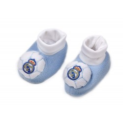 Baby Socks Real Madrid Official Non Slip Booties / Patucos Bebe