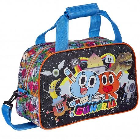 Amazing Gumball Sports Travel Bag Gym Bolsa Deporte Viaje