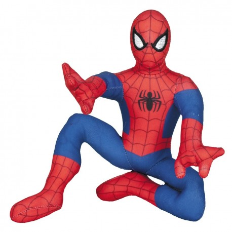 Peluche Spiderman 30cm Action Pose Oficial Famosa Softies Pluch Figure Oficial Marvel