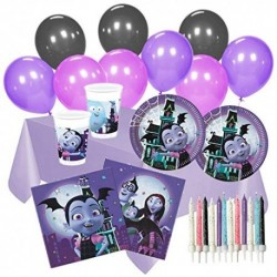 Party Supplies Vampirina Complete Set 16 Guests Tableware Balloons Candles Official