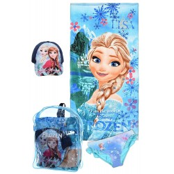 Pack Frozen Towel Bikini Sun Cap Gift Bag Oficial Summer Set