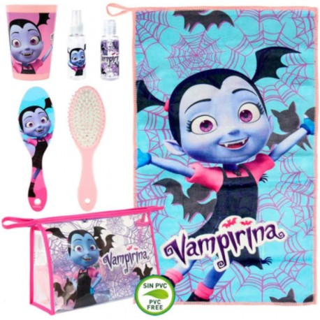Vampirina Travel Hygiene 5 Pieces Set For Kids