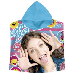Poncho Soy Luna Disney Hooded Towel Original