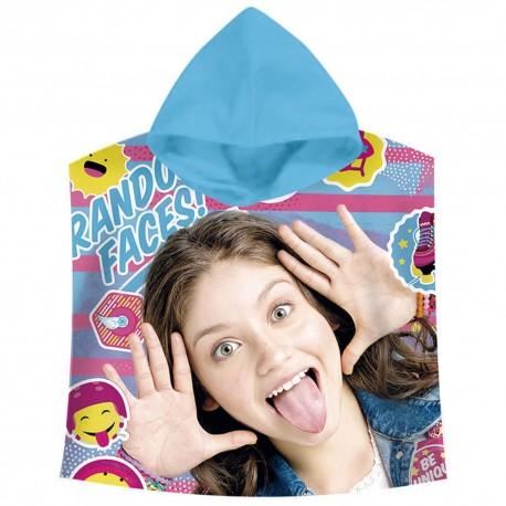 Poncho Soy Luna Disney Hooded Towel Original