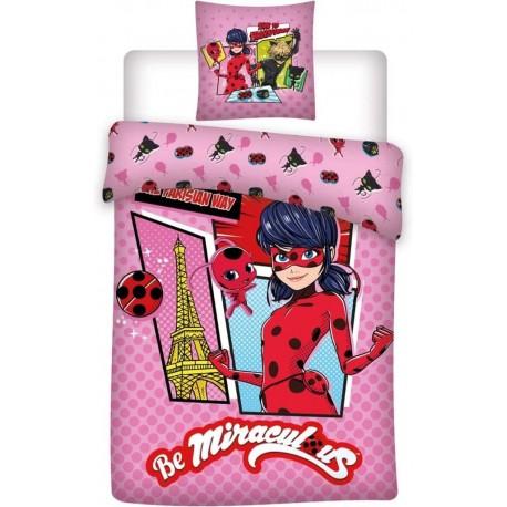 Miraculous Ladybug Junior Toddler Bedding Set 2 Pieces Cotton Original