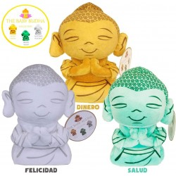 Baby Buddha 25cm Plush Figure Collection Health Happiness Wealth