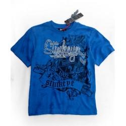 Camiseta STINKEYE estilo Tatoo Batik Azul