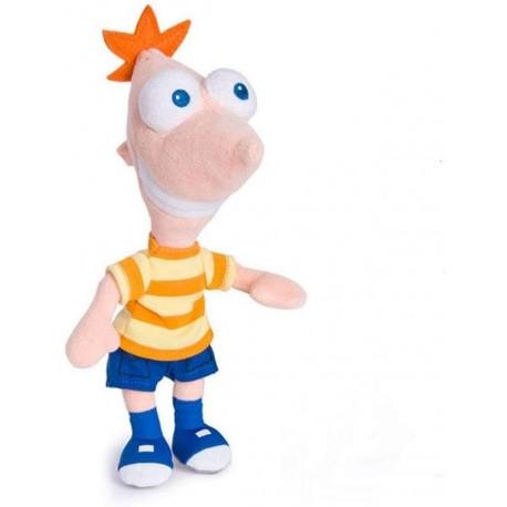 Plush Toy Figure Phineas 20cm 8 Inches Original